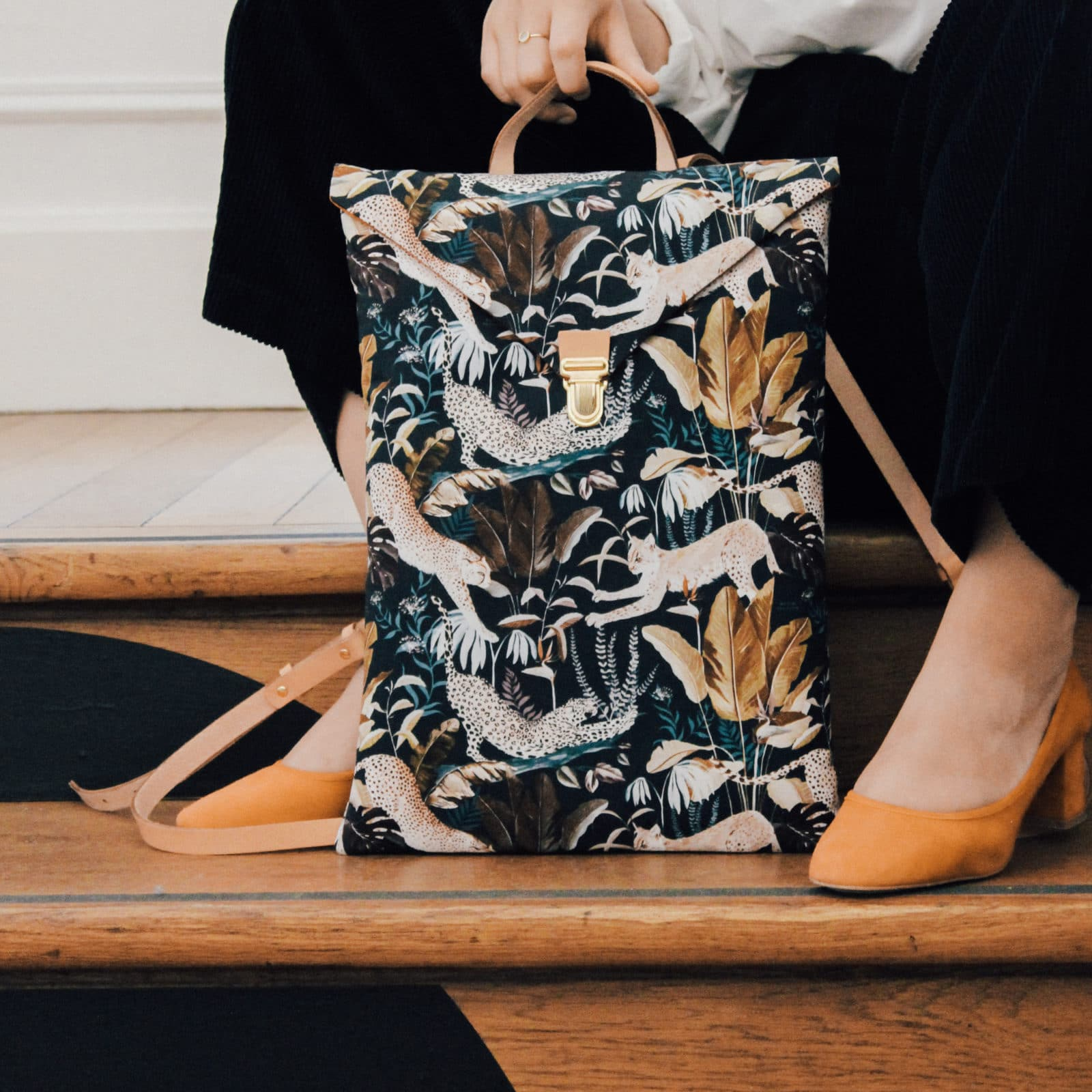 Sac à dos avec un motif Jungle 22