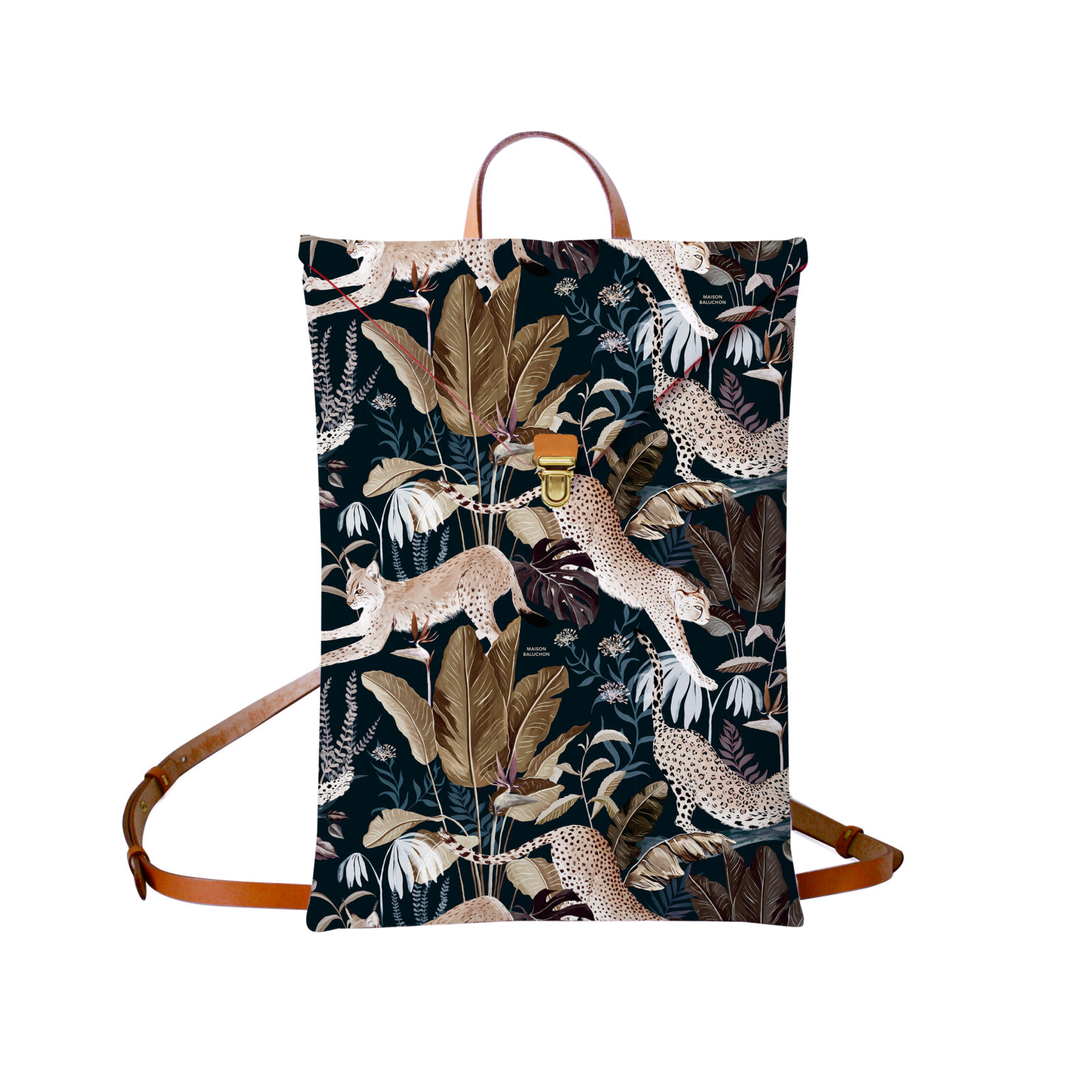 Sac à dos avec un motif Jungle N°22