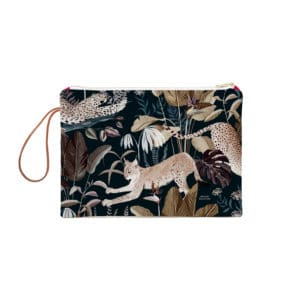 Grande Pochette Zippée Jungle N°22