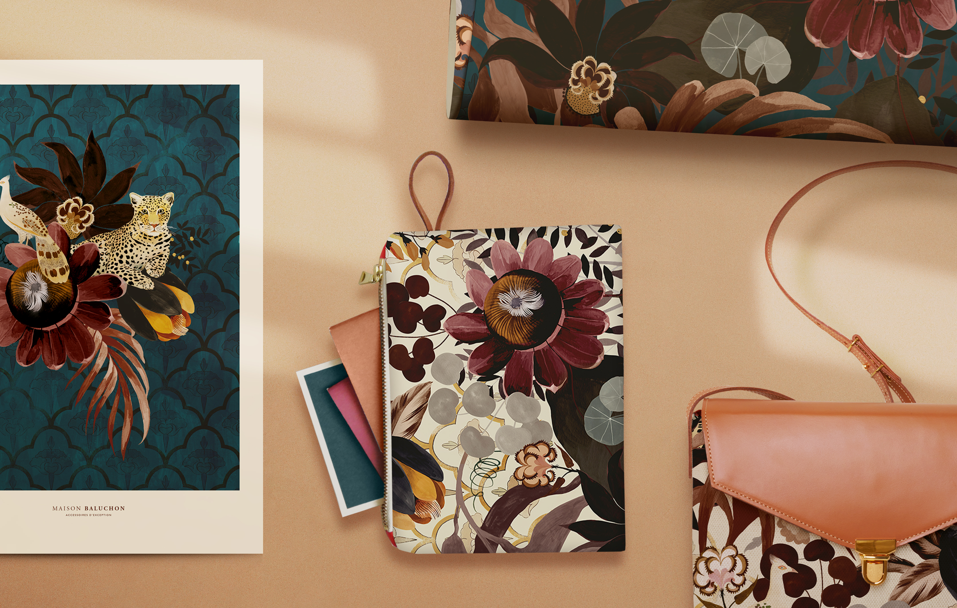 Ambiance produits collection INDE