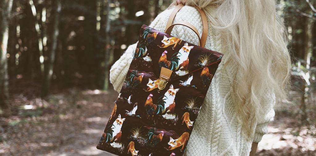 MB - Backpack Forêt N°21 - Made in France