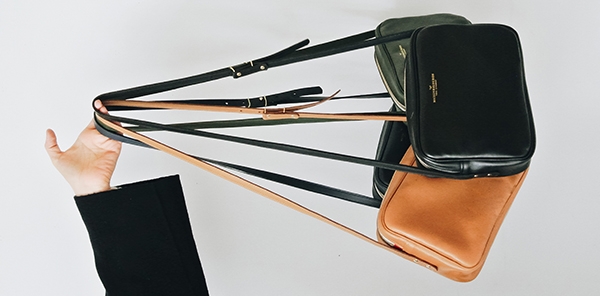MB - Crossbody Cuir - Made in France