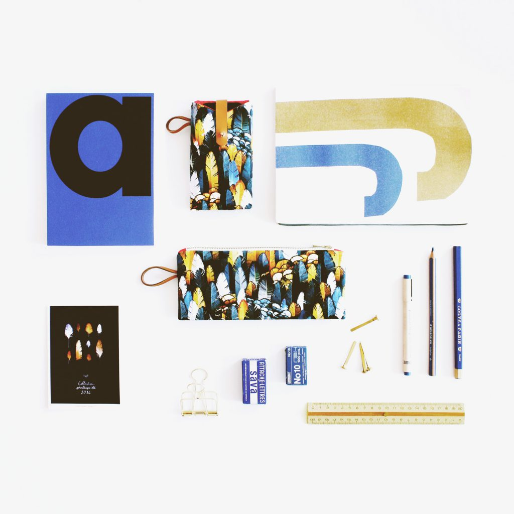 MB - Composition Collection Sauvage N°17 - Accessoires