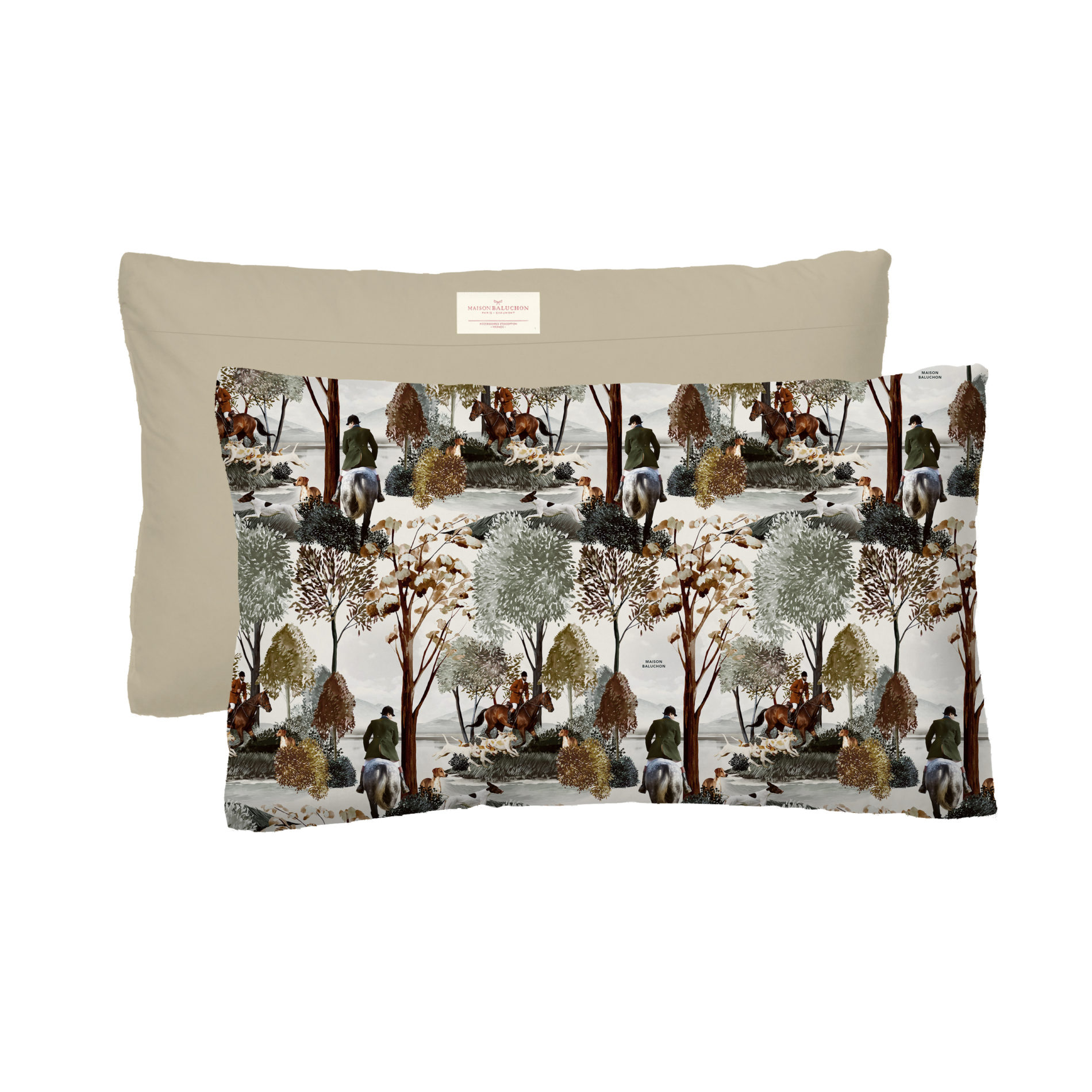 Housse coussin 50*30 Foret N°24
