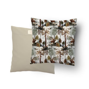 Housse coussin 50*50 Forêt N°24