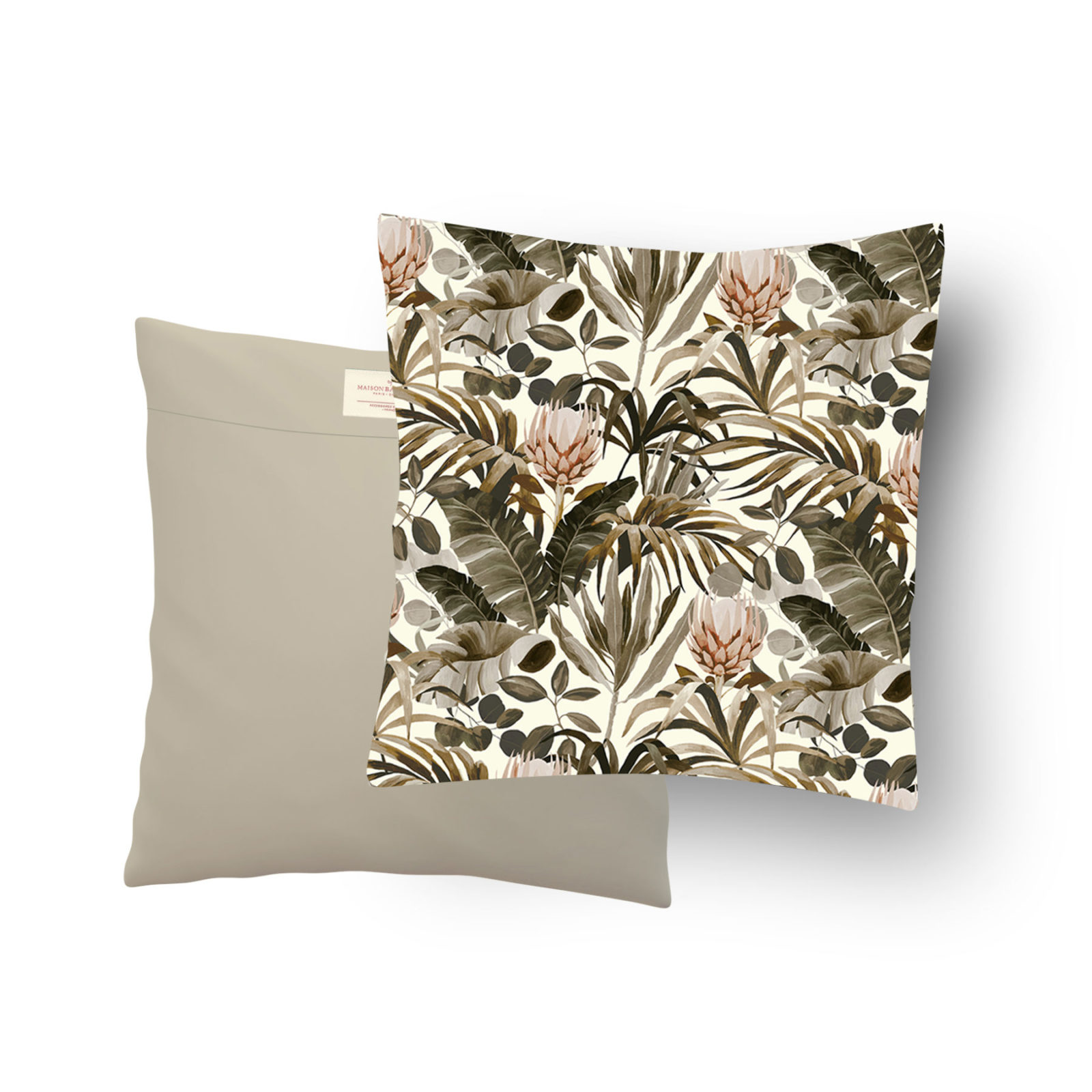 Coussin Format 50x50 cm Tropical N°14