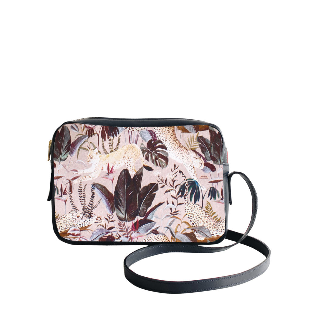 Sac à main Crossbody Maison Baluchon avec un motif Jungle n°21