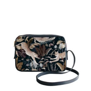 Sac à main Crossbody avec un motif Jungle N°22