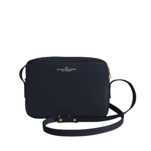 Maison Baluchon Crossbody Dark Blue grainé - AW19