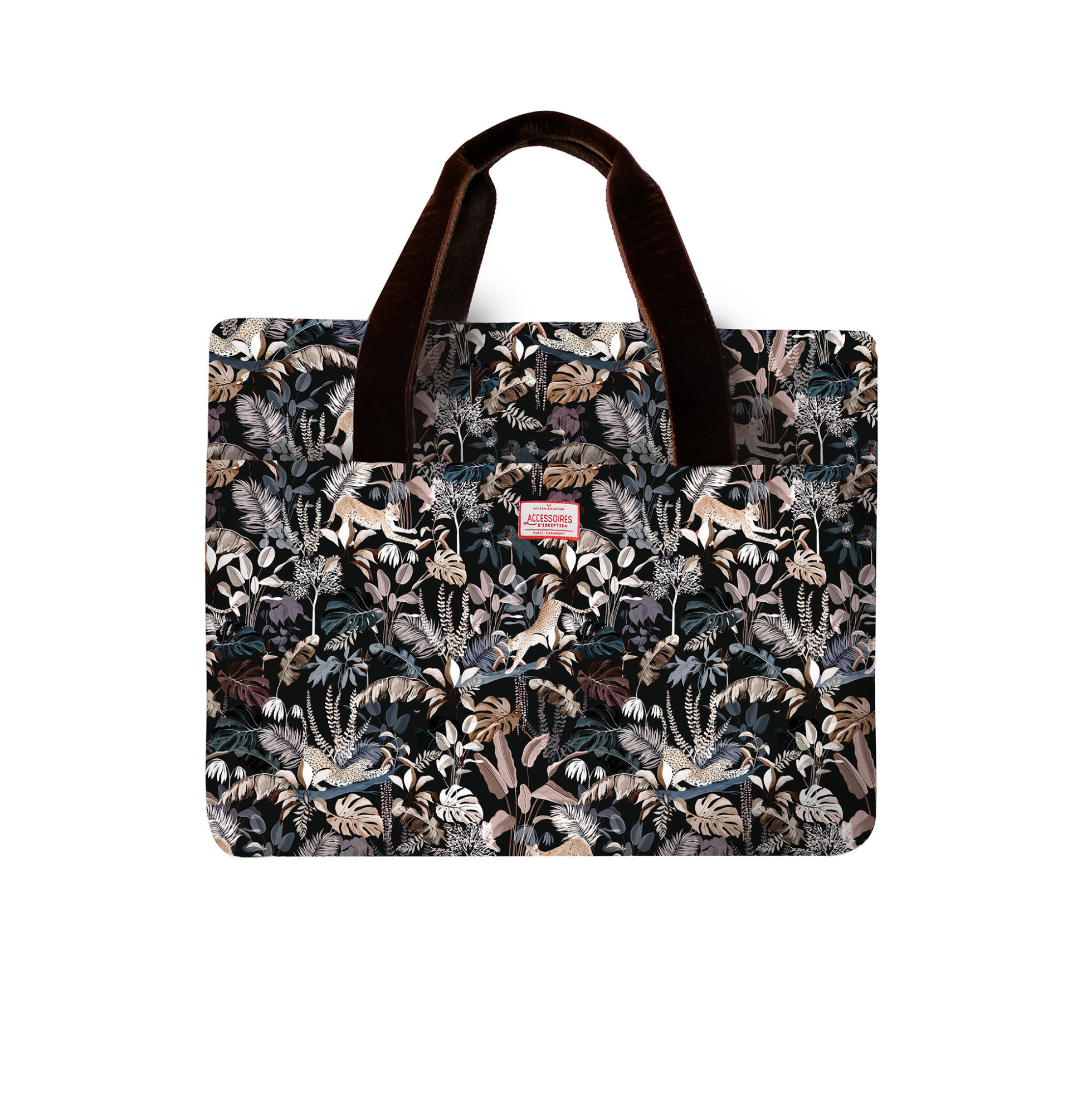Sac week-end avec un motif Jungle N°19