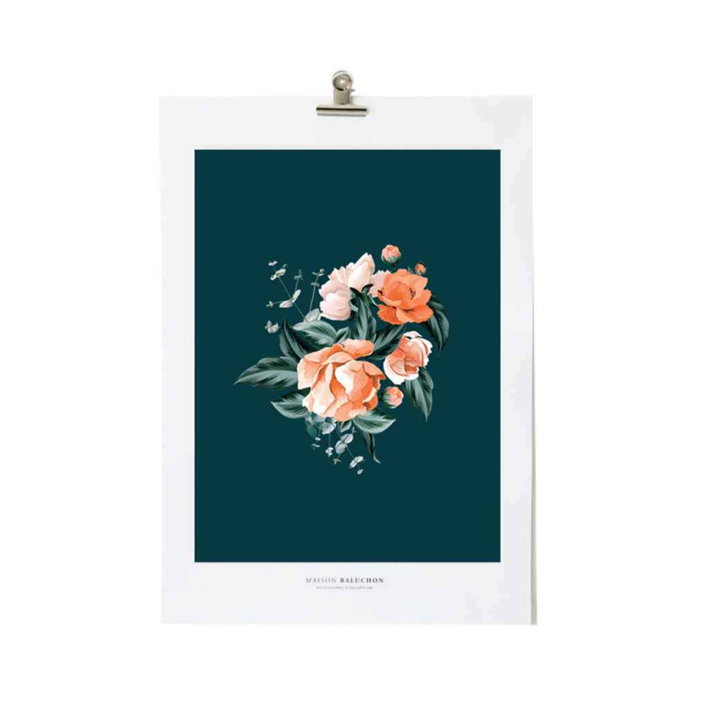 Illustration format A3 Floral N°03