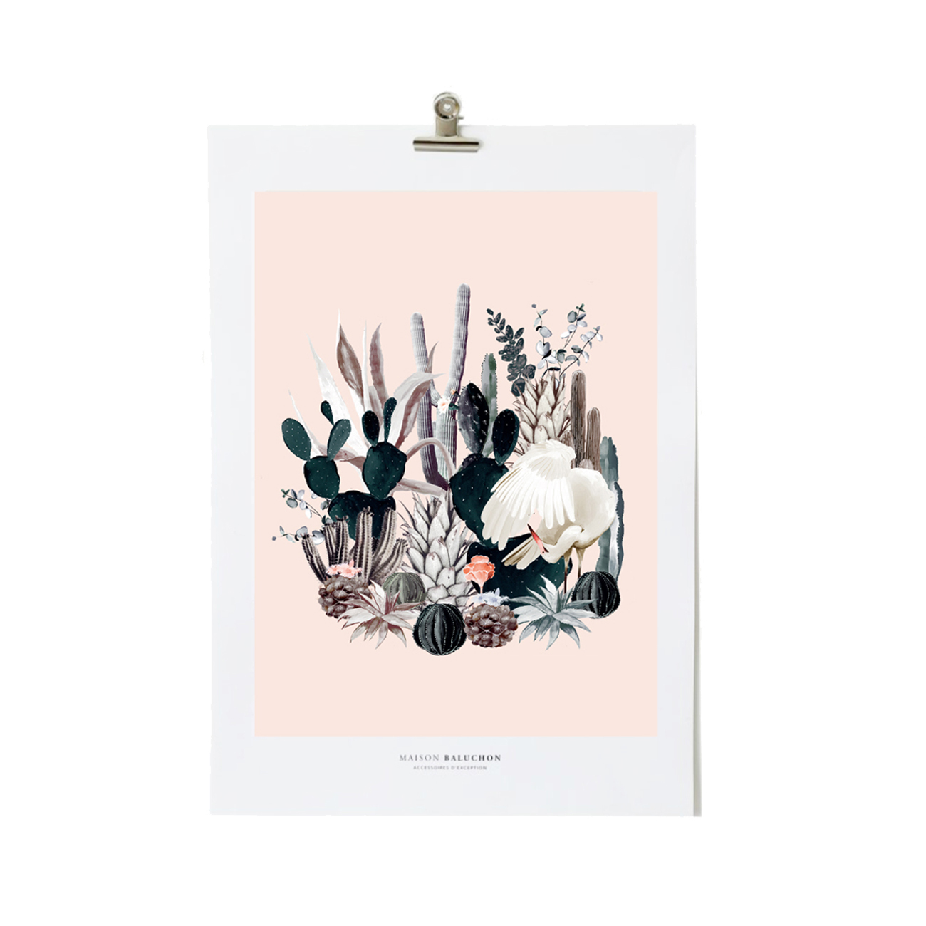 Illustration format A4 Tropical N°12