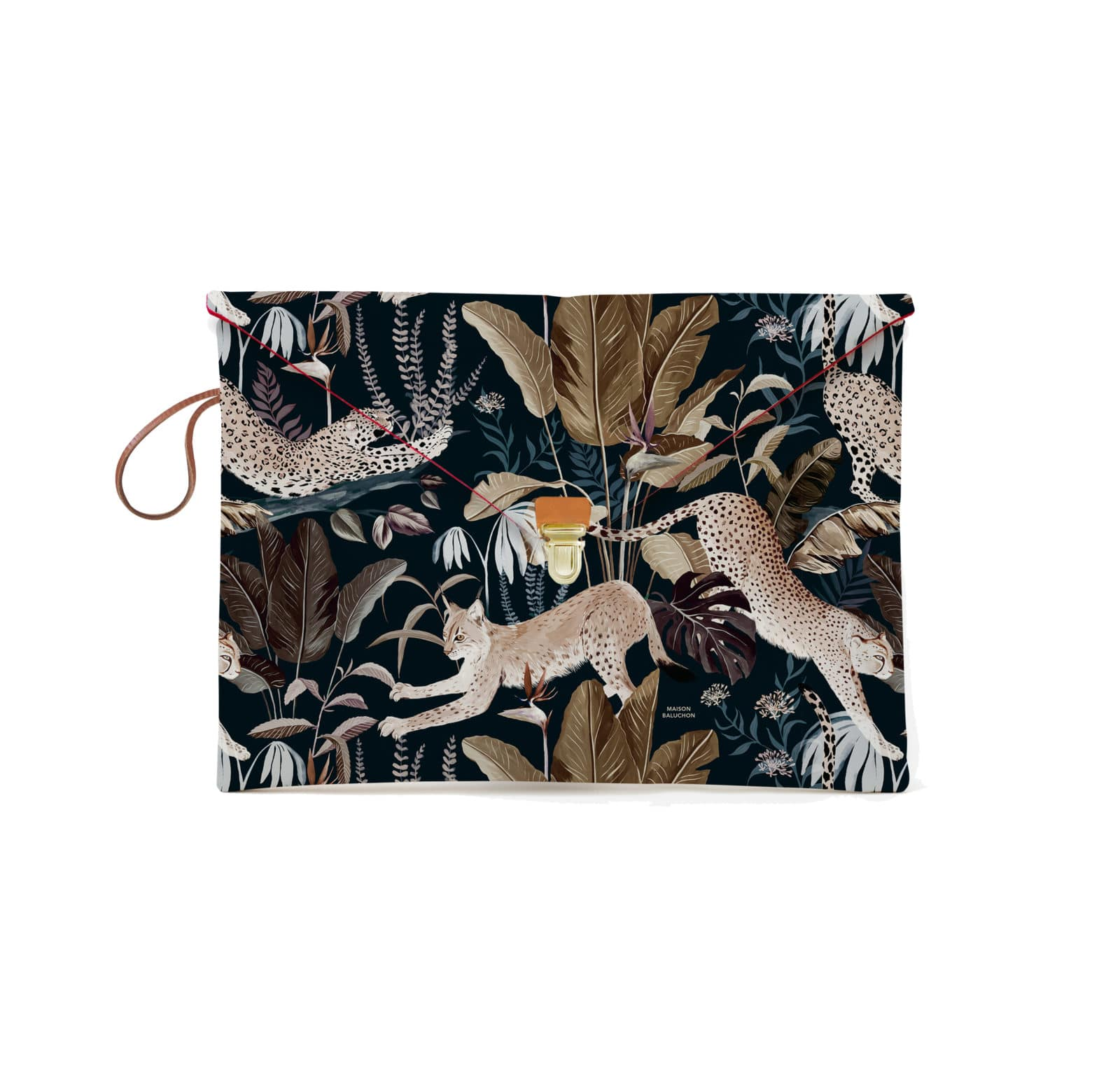 Pochette MacBook avec un motif Jungle N°22