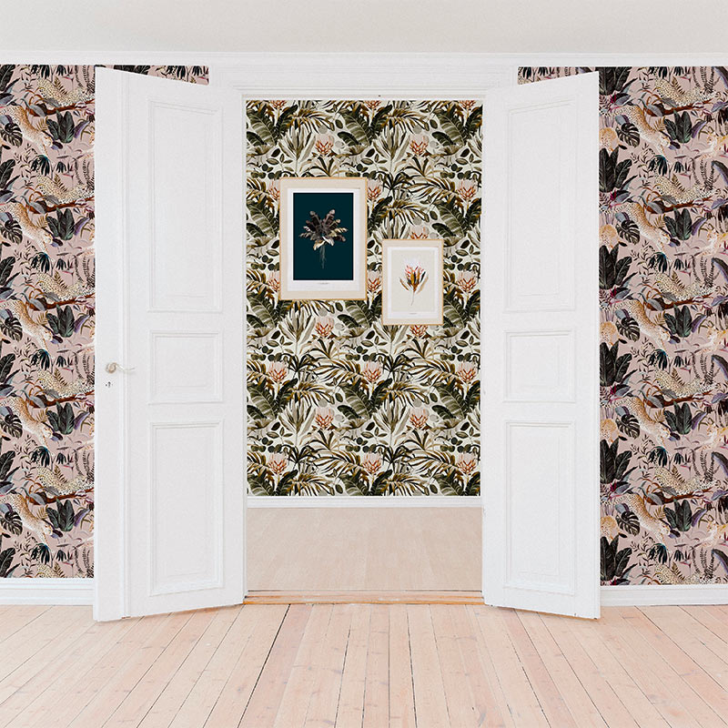 Maison Baluchon –décoration – jungle n°21, Tropical n°14