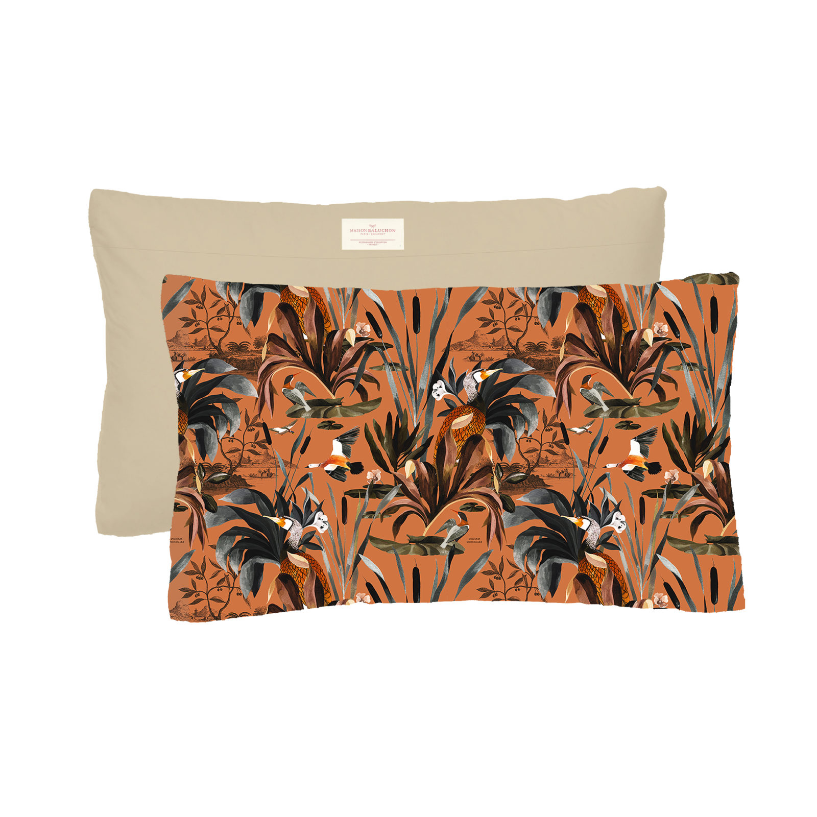 Coussin Format 50x30 cm Sauvage N°26 - Terracotta
