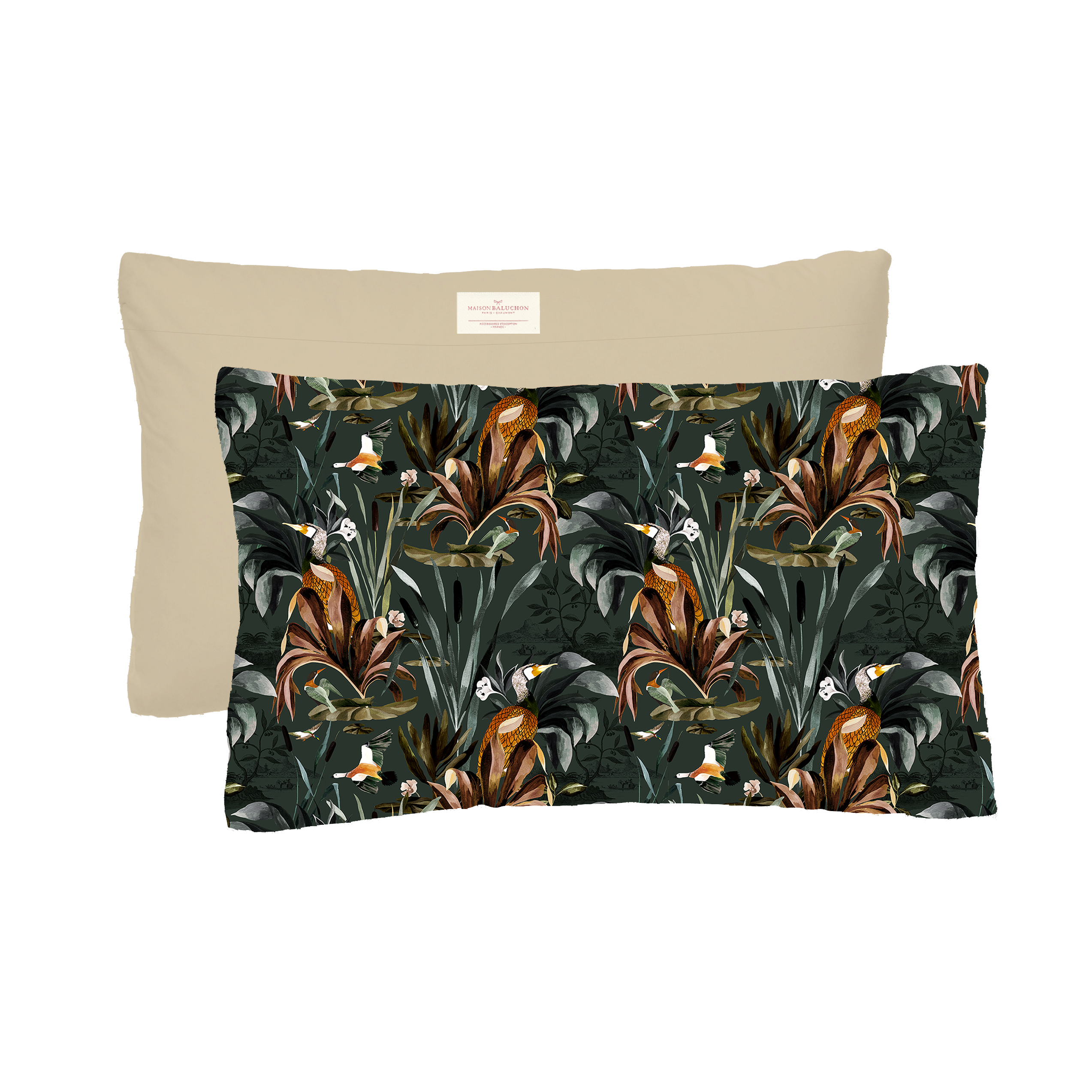 Coussin 50x30 Sauvage N°26 - Vert