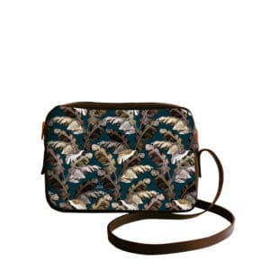 Sac à main Crossbody avec un motif Tropical N°13