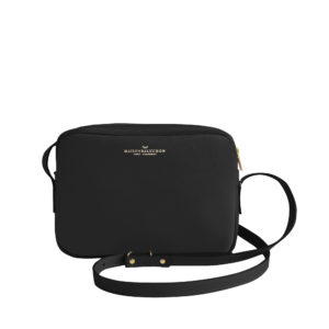 Sac à main Crossbody Dark blue Grainé