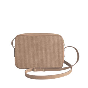 Sac à main Crossbody Uni N°16 - Velours Côtelé