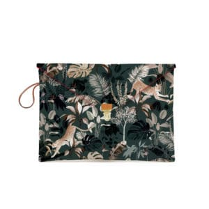 Pochette macbook 13'' motif Jungle N°20