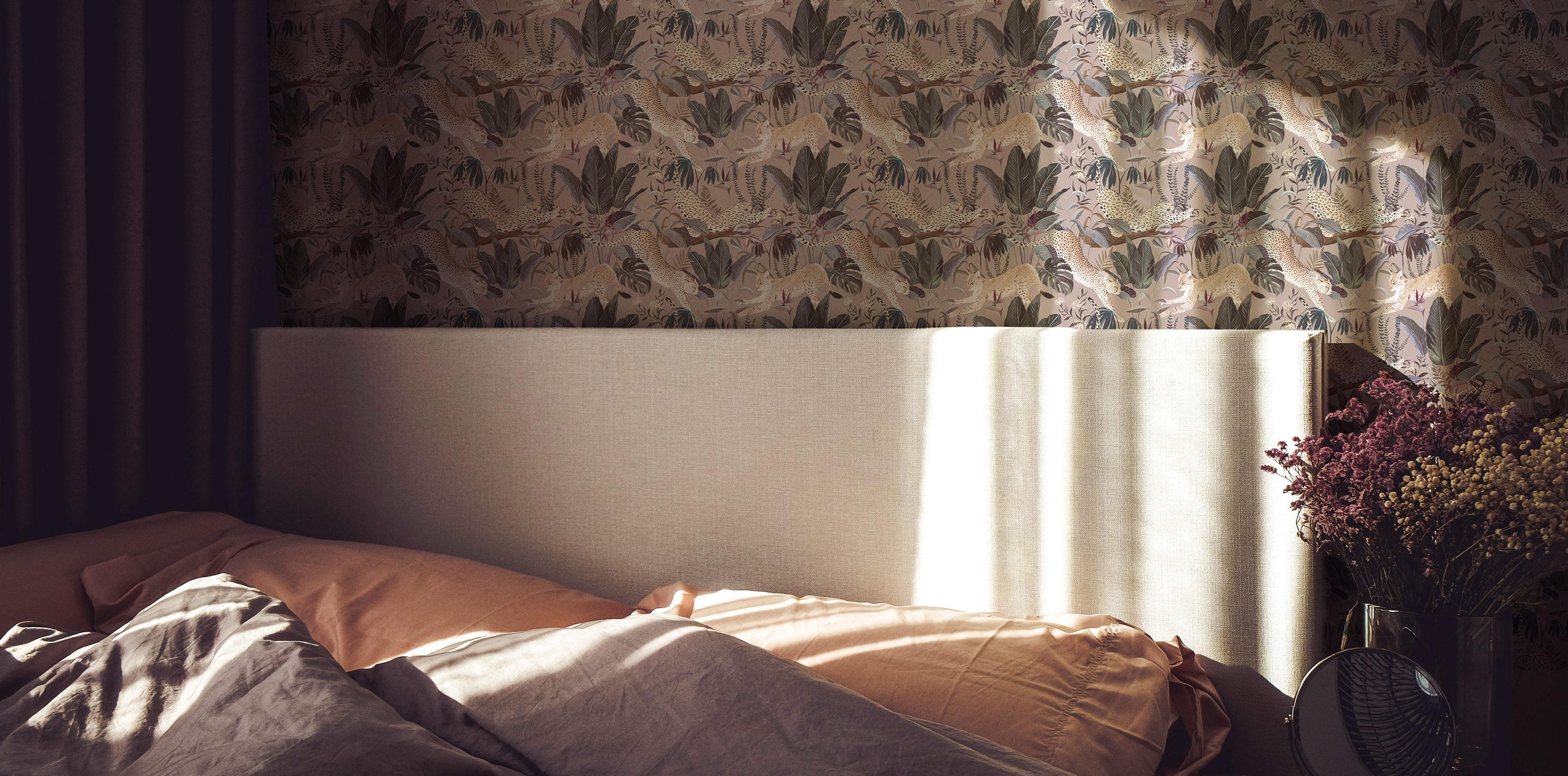 Papier peint intissé avec un motif jungle 21