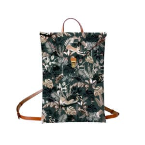 Sac à dos avec un motif jungle 20