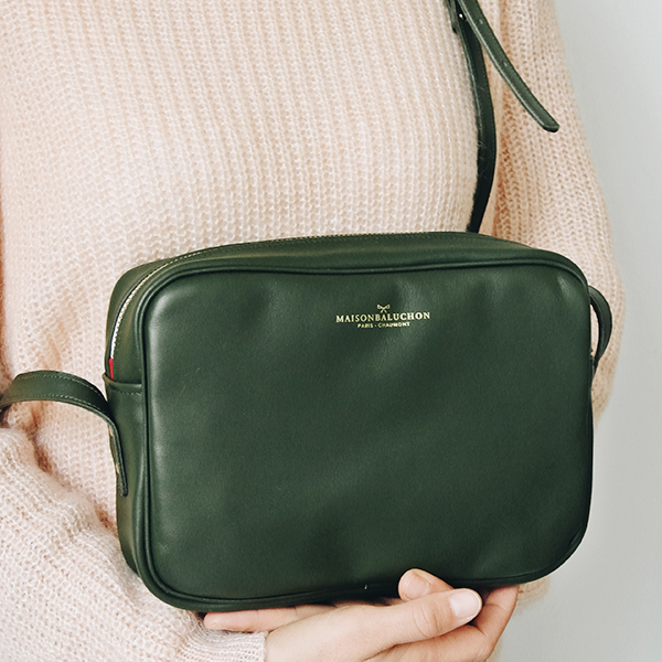 MB - Crossbody vert - Made in France