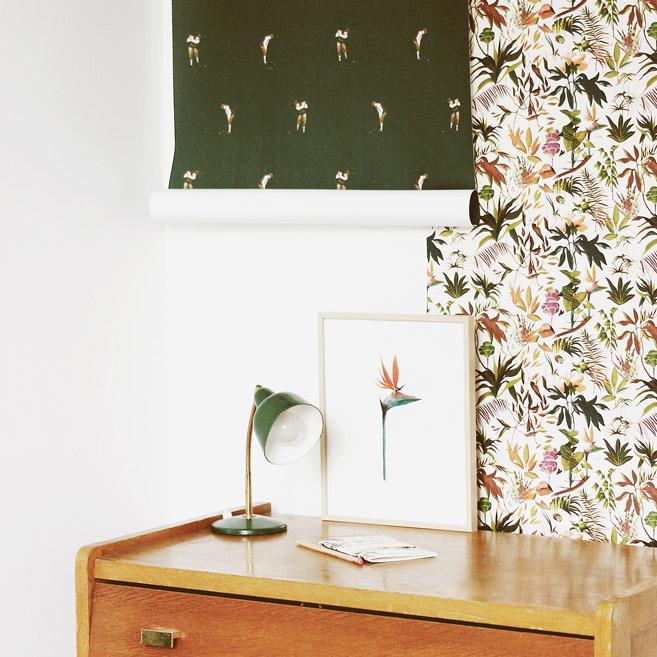 MB - Papier Peint écologique - Motif Tropical