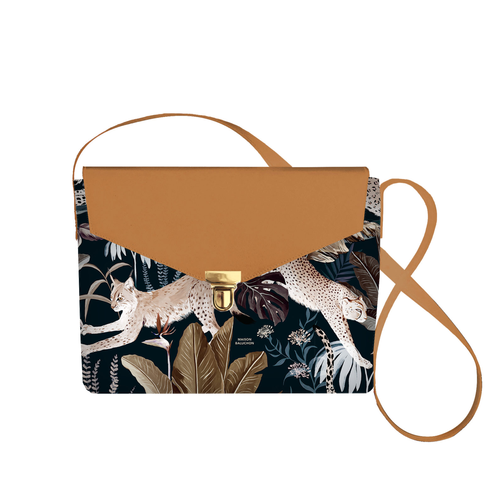 Sacoche Jungle N°22 - Cuir Camel