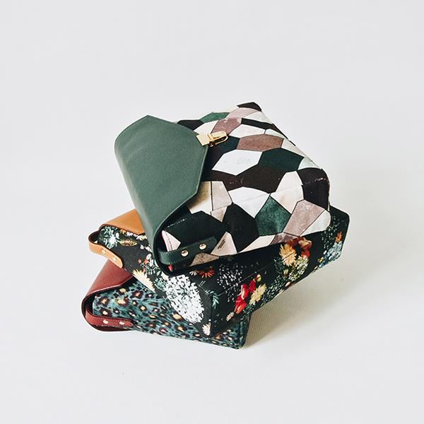 MB - Purse Floral N°03 - Graphique N°10 - Sauvage N°23