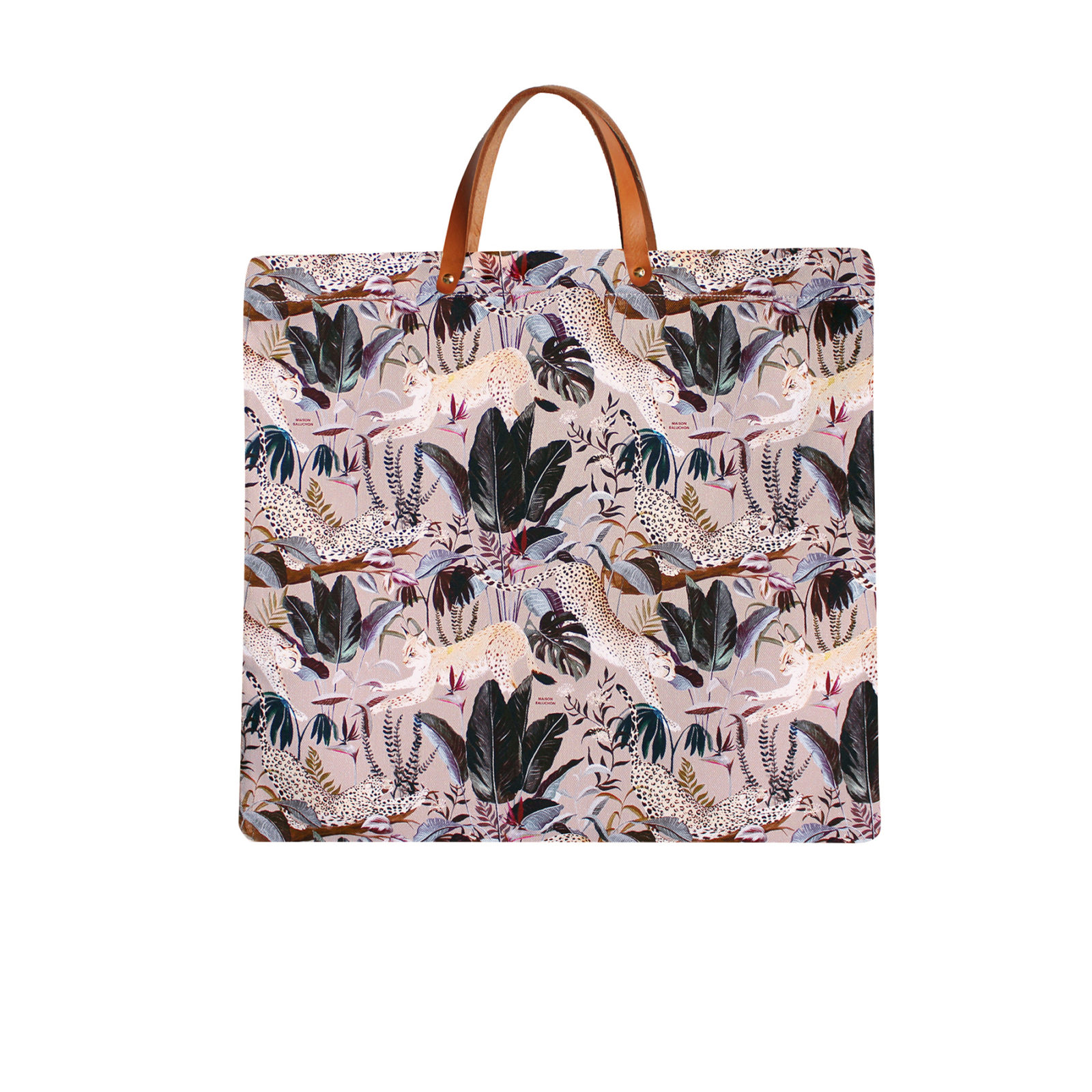 Tote Bag Maison Baluchon avec un motif Jungle n°21