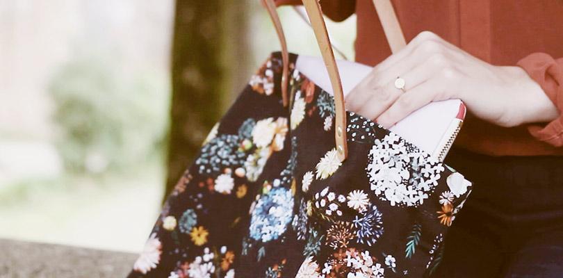 MB - Tote bag - Motif Floral N°02 - Made in FR