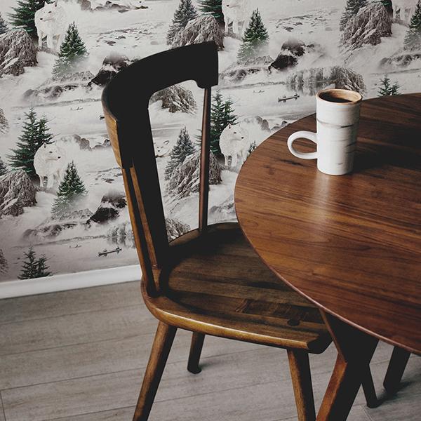 MB - Papier peint Forêt N°23 - Cuisine