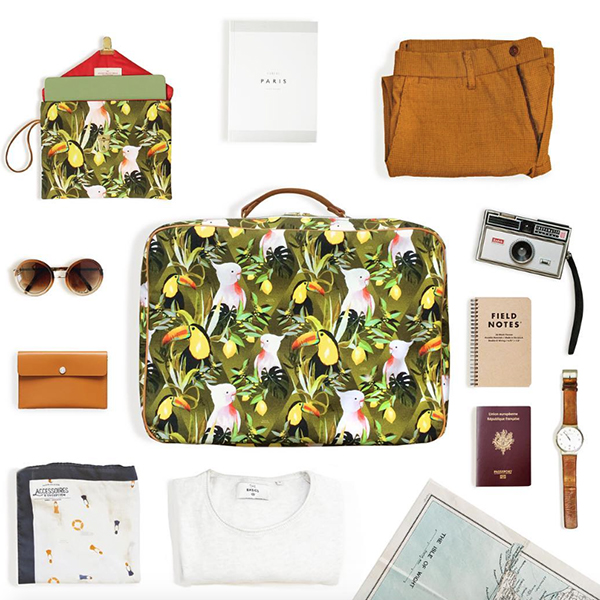 MB - Valise Jungle N°16 - Made in France
