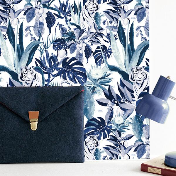Maison Baluchon - Papier peint - Tropical N°10
